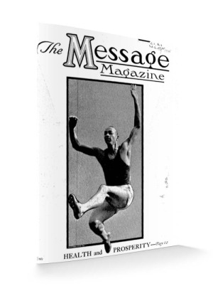 Message Magazine 1935 cover