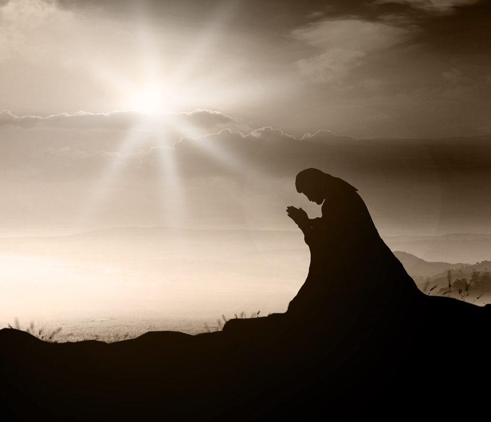 Image result for jesus praying