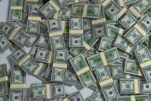 Packs of money