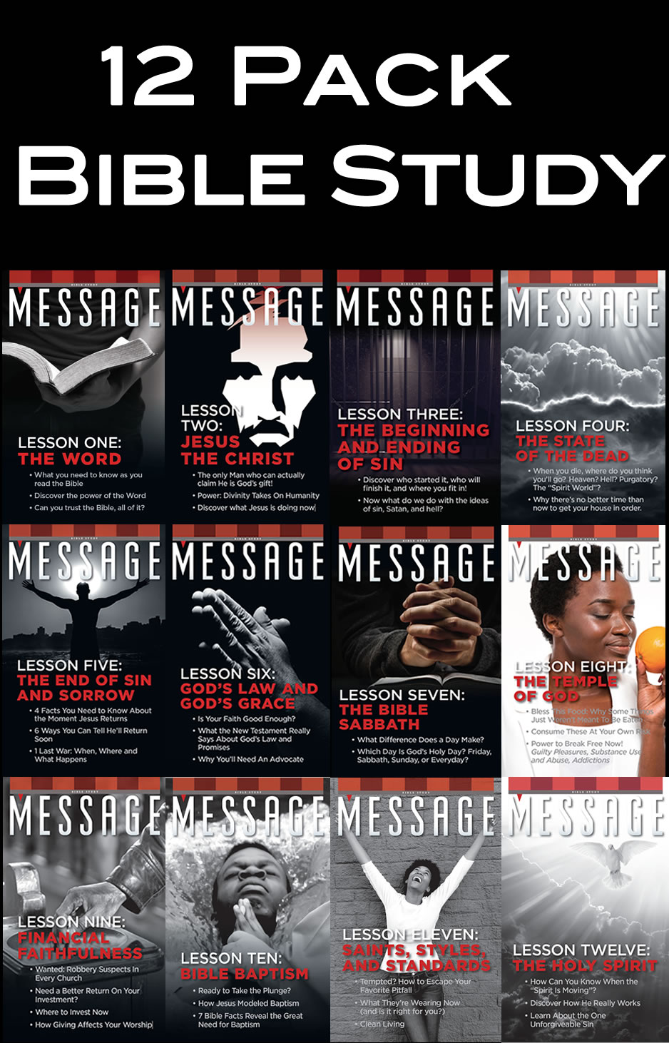 Bible Study Pack of 12
